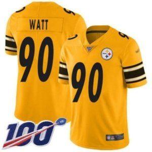 Pittsburgh Steelers T. J. Watt 100th Season Jersey